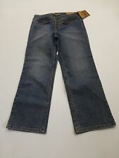 LEI Jeans Junior Womens Size 3 Cropped Stretch Blue Jeans New