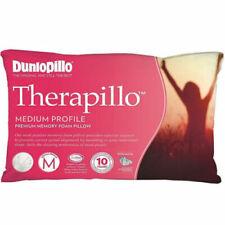 Dunlopillo Therapillo  Medium Profile  Memory Foam Pillow