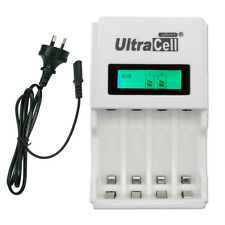 AA AAA NIMH NI-CD Quick LCD Display Rechargeab​le battery charger AU Ultracell+
