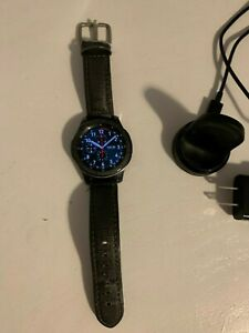 Samsung Gear S3 frontier 46mm Stainless Steel Case Signature Earl Grey TUMI Band