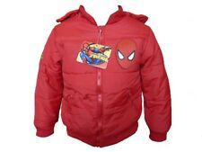 Boys Disney Cars Winter Hooded Jacket Puffer Red - 3 years / 98 cm