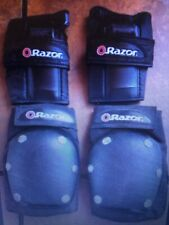 Youth Razor Knee Pads And Wrist Guards