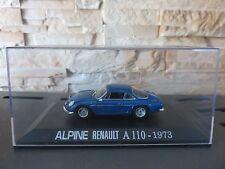 VOITURE MINIATURE IXO RENAULT ALPINE  A 110 DE 1973  /43  ETAT NEUF