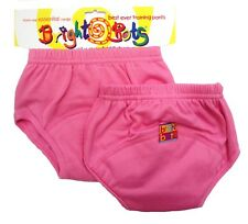 Bright Bots Washable Potty Training Pants (2pk, Pink, Small, 12 -18 months)