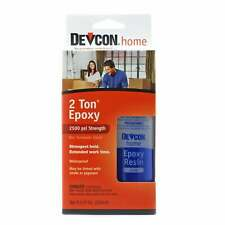 More details for devcon 33345 2 ton epoxy adhesive waterproof & clear 250 ml (8.5 fl. oz.)