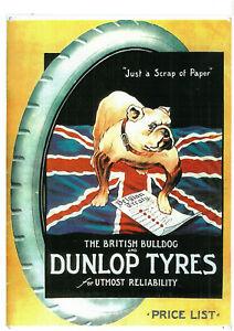 Dunlop Tyres - British Bulldog Metal Sign (WAR156)
