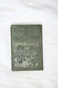 Jagd Vorstehhund Parforce-Dressur Aufzucht Pflege Friedrich Oswald 1901