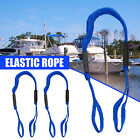 2 Pack Marine Bungee Dock Line Boat Mooring Rope Anchor Cord Stretch Shocks Blue