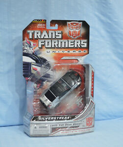 Transformers Universe SILVERSTREAK Deluxe MOSC Classics 2008 Bluestreak Streak
