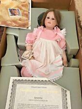 """Hildegard Gunzel  23"""" Porcelain Samantha MIB w/COA"""