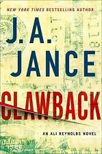NEW Clawback Ali Reynolds Series Book 11 by J. A. Jance Hardcover Hardback Novel