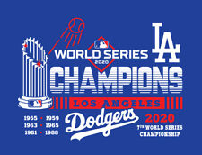 Los Angeles Dodgers 2020 World Series Champions shirt LA Champs Mookie Betts WS