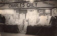 Postcard Charles Grey General Draper High Street Redcar North Yorkshire RP i1