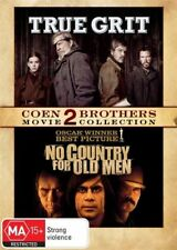 No Country For Old Men / True Grit  ..COEN BROTHERS..R4..NEW & SEALED   D3496
