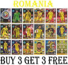 298-315 ROMANIA Euro 2016 Panini Adrenalyn cards