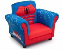 Spiderman Chair Kids Bedroom Furniture TV Reading Desk Game Lounge NEW