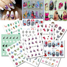 Nail Stickers Butterfly Flower Nail Art Diy Waterproof Adhesive Transfer Decals