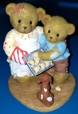 New Cherished Teddies - Courtney And Cameron - Ct1102 - Club Figurine