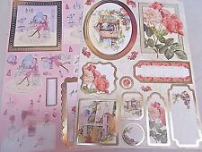 HALLMARK~A4 DIE CUT FOILED DECOUPAGE SHEETS x2 ~160gsm~CRAFT~CARDS~SCRAPBOOKING~