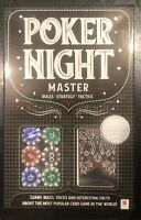 Poker Night Kit - Hinkler - Brand New - Great Fun Family Night