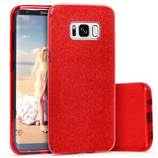 Shockproof Glitter Bling Silicone PC Hybrid Case Cover for Samsung Galaxy S8Plus