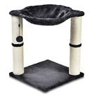 Cat Tree Tower with Hammock Bed and Scratching Post Activity Centre Pet Toys