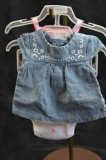 Carter New Born Baby Girl Diaper Cover Set 3-Pieces NEW WITH TAGS Size NB