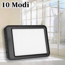 SAD Tageslichtlampe 35000 LUX Lichttherapie Lampe 10 Modi LED Tageslicht DHL