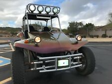 NO RESERVE STREET LEGAL VW DUNE BUGGY TURBOCHARGED LIFTED 4 SEAT SHOW CAR MANX