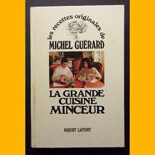 LA GRANDE CUISINE MINCEUR Michel Guérard 1976