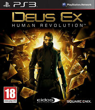 Deus Ex Human Revolution PS3 Playstation 3 IT IMPORT SQUARE ENIX