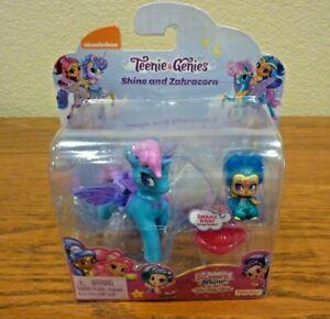 Nickelodeon Teenie Genies Shine and Zahracord Unicorn Wings Flutter Blue - NIP