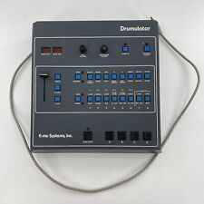 Drumulator 7000 Vintage E-MU Systems Drum Machine AS IS UNTESTED
