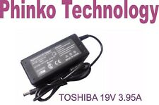 Toshiba Satellite L650D L500D LAPTOP POWER CHARGER AC ADAPTER 19V 3.95A PSU