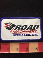 ROAD MACHINERY MITSUI & CO. LIMITED Advertising Patch 85KK