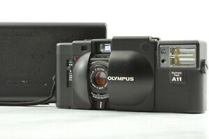 [Near MINT] Olympus XA 35mm Point & Shoot Film Camera w/ A11 Flash From JAPAN