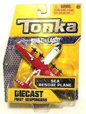 Tonka Diecast First Responders Sea Rescue Plane Hasbro 2016