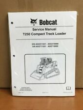 Bobcat T250 Track Loader Service Manual Shop Repair Book 4 Part # 6986682