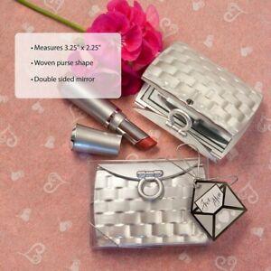 40 Pocketbook Design Mirror Compact Wedding Bridal Shower Birthday Party Favors