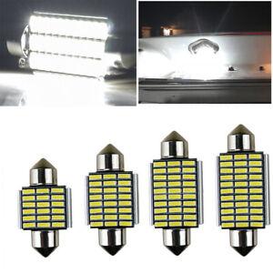 C5W Car Festoon White LED SMD Light Bulbs Lamps Interior Canbus Sidelight UK