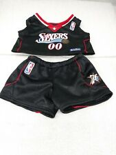Build a Bear Nba Philadelphia Sixers Basketball Uniform Babw