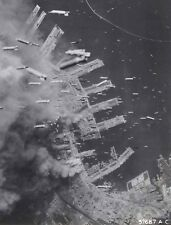 WWII Photo, Bombing of Japan,  WW2 US Army Air Force World War Two Kobe Japan