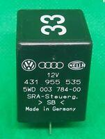 VW Audi Porsche 431955535 5wd003784 00 Relay Control Module Unit No 33