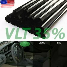 "Uncut Window Tint Roll 35% VLT 20"" in 10ft feet Home Commercial Office Auto Film"