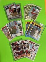 🔥1970-77🔥HOF CINCINNATI REDS TONY PEREZ - Vintage Topps Baseball Card LOT X15