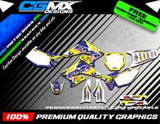 RMZ 250 SUZUKI Motocross MX ATV QUAD Graphics FULL DECAL Kit deco