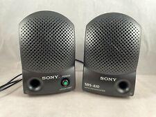Sony SRS-A10 (1994) Walkman Active Speaker System W/ Built-In Amplifiers
