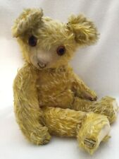 """EXTREMELY RARE Swiss Jopi Bear With Working Music Box 20"""""""