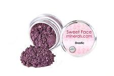 DRASTIC EYE SHADOW Jar Mineral Makeup Bare Skin Purple Liner Loose Powder Cover