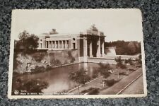 MENIN GATE  MEMORIAL OF BRITISH HEROES  YPRES   PHOTO POSTCARD  VINTAGE RP  VGC